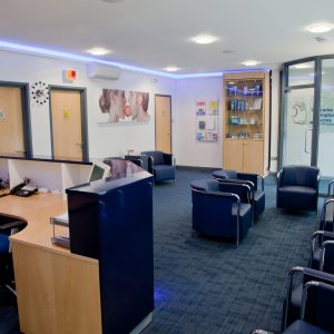 Compton Acres Dental Practice Reception