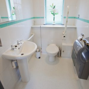 Compton Acres Dental Practice Toilets